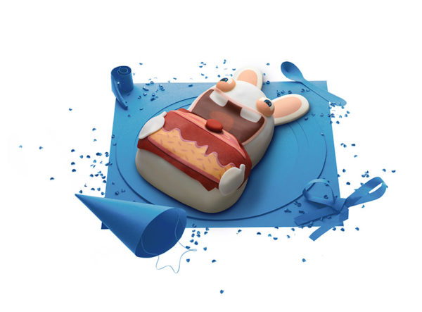 Gâteau Lapins Crétins