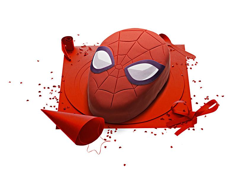 Gâteau SpiderMan Marvel