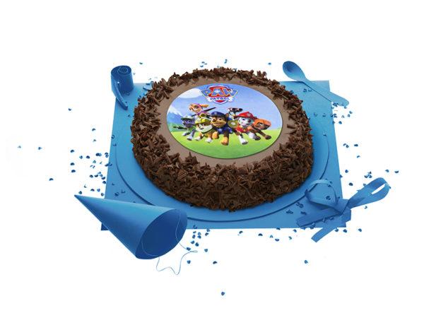 Gâteau La Pat Patrouille