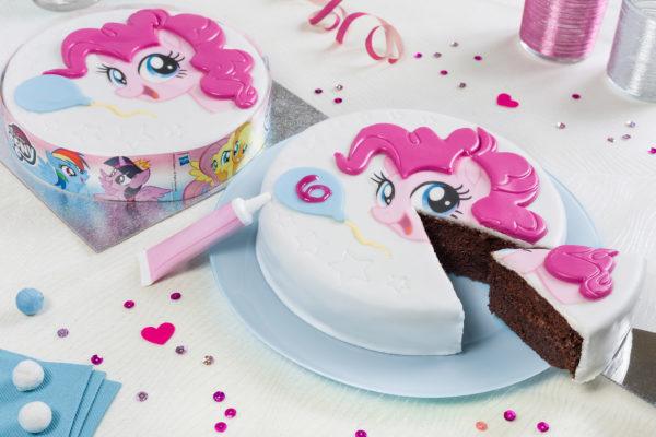 Gâteau d'anniversaire My little Pony