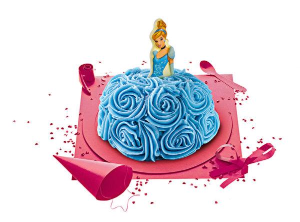 Gâteau d'anniversaire Princesse Cendrillon