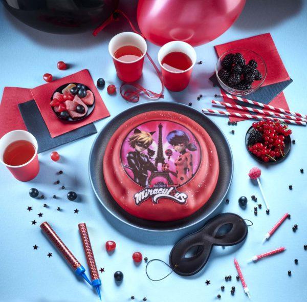 gâteau d'anniversaire Miraculous