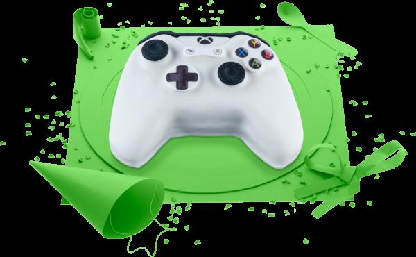 Gâteau d'anniversaire Xbox