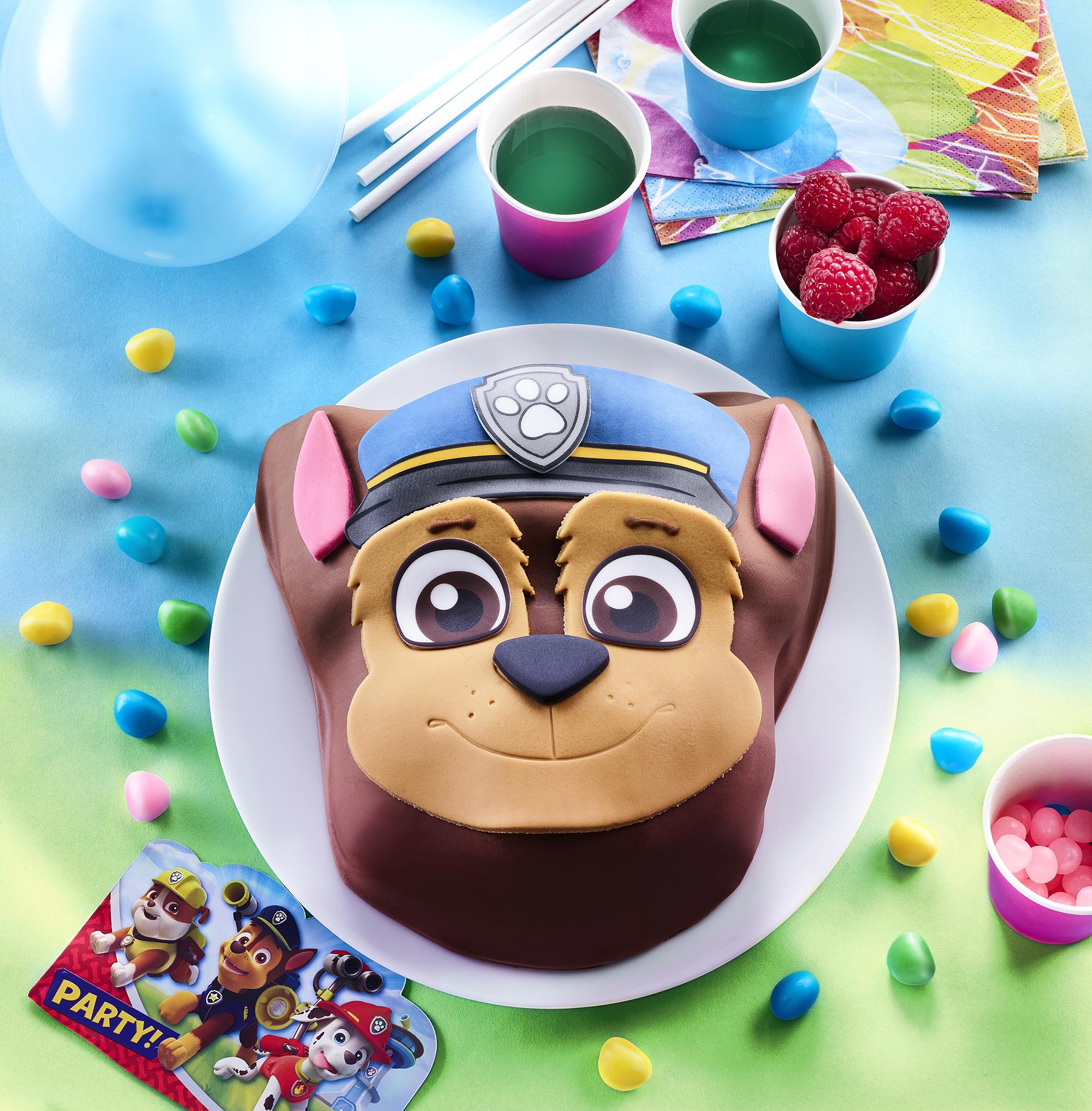 Gâteau d'anniversaire Pat'Patrouille