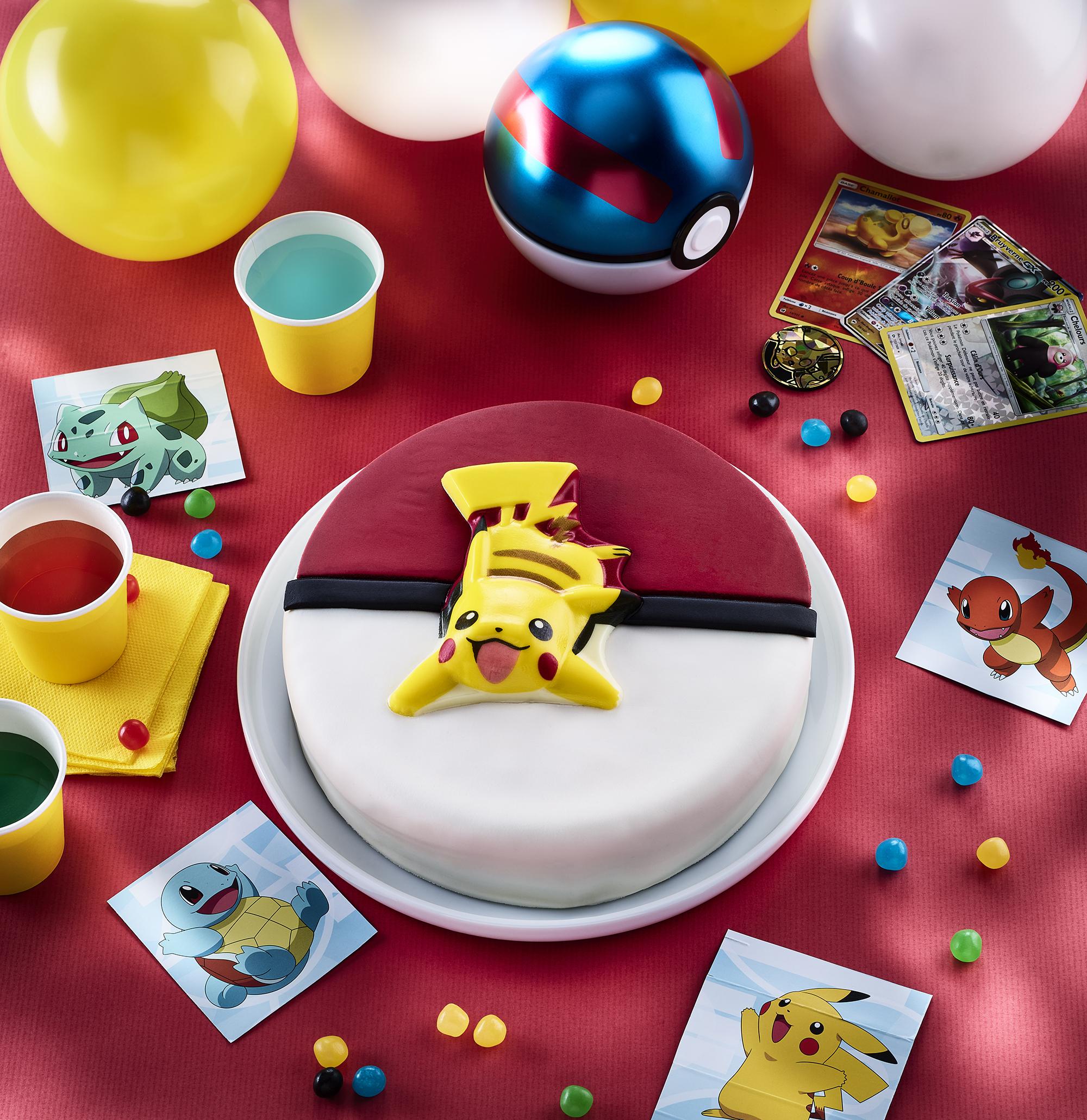 Gâteau d'anniversaire Pokémon
