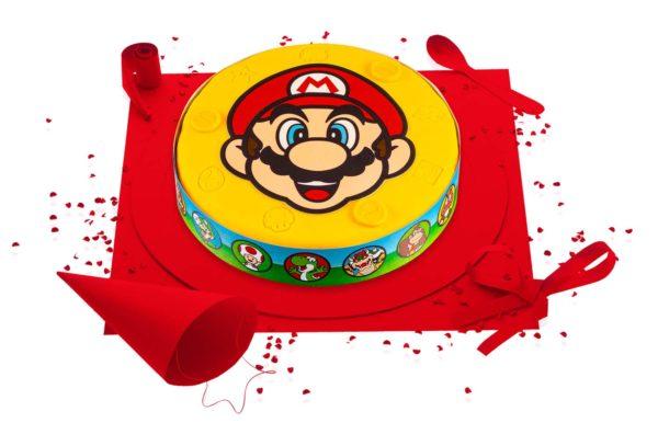 gâteau Super Mario